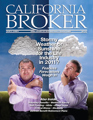 May 2011 California Broker Cover Life Insurance