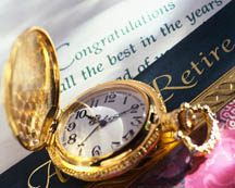 Gold Watch for Retirement