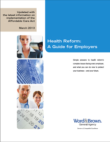 Health Reform Booklet Now Available to Employers and Brokers Throughout California