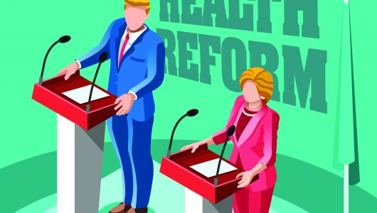 How Clinton's and Trump's Health Reform Ideas Would Play Out