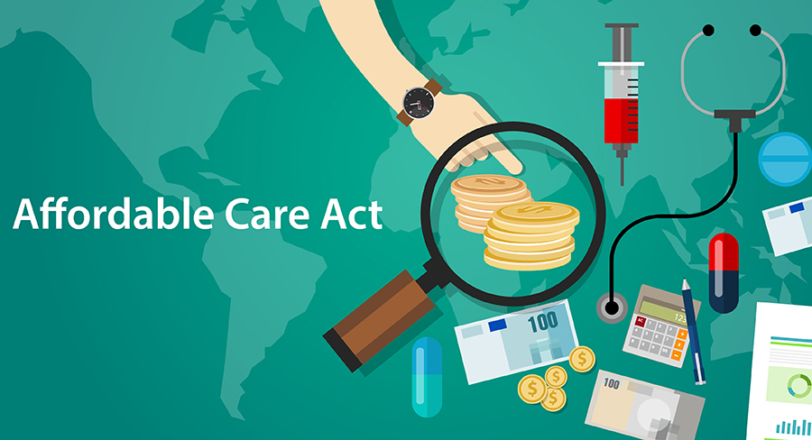 67580162 – affordable care act aca obama care health insurance program vector