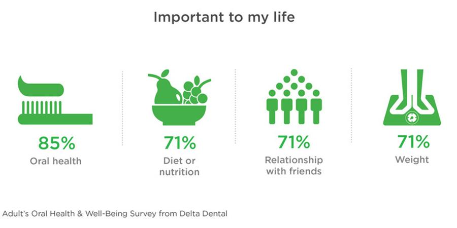 Delta Dental Plans Association Survey Infographic