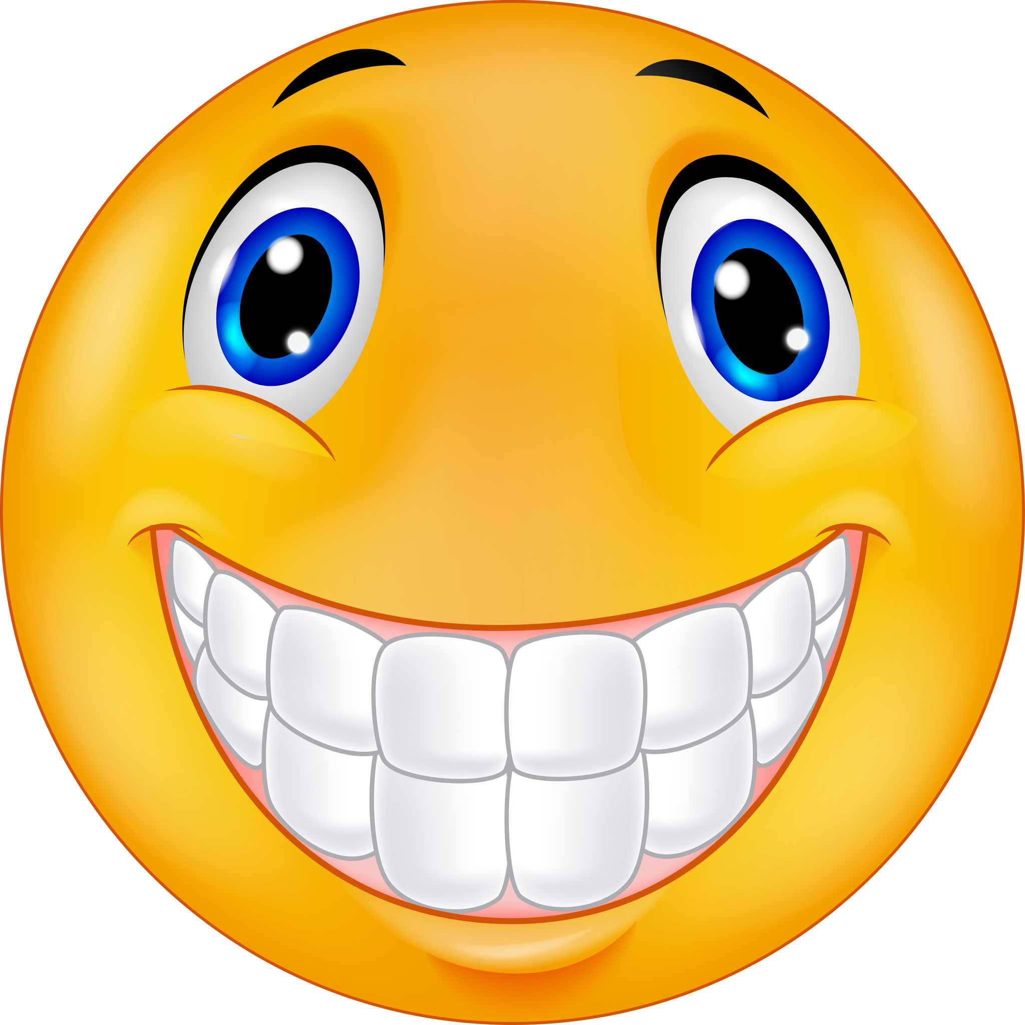 35858631 – happy smiley face cartoon