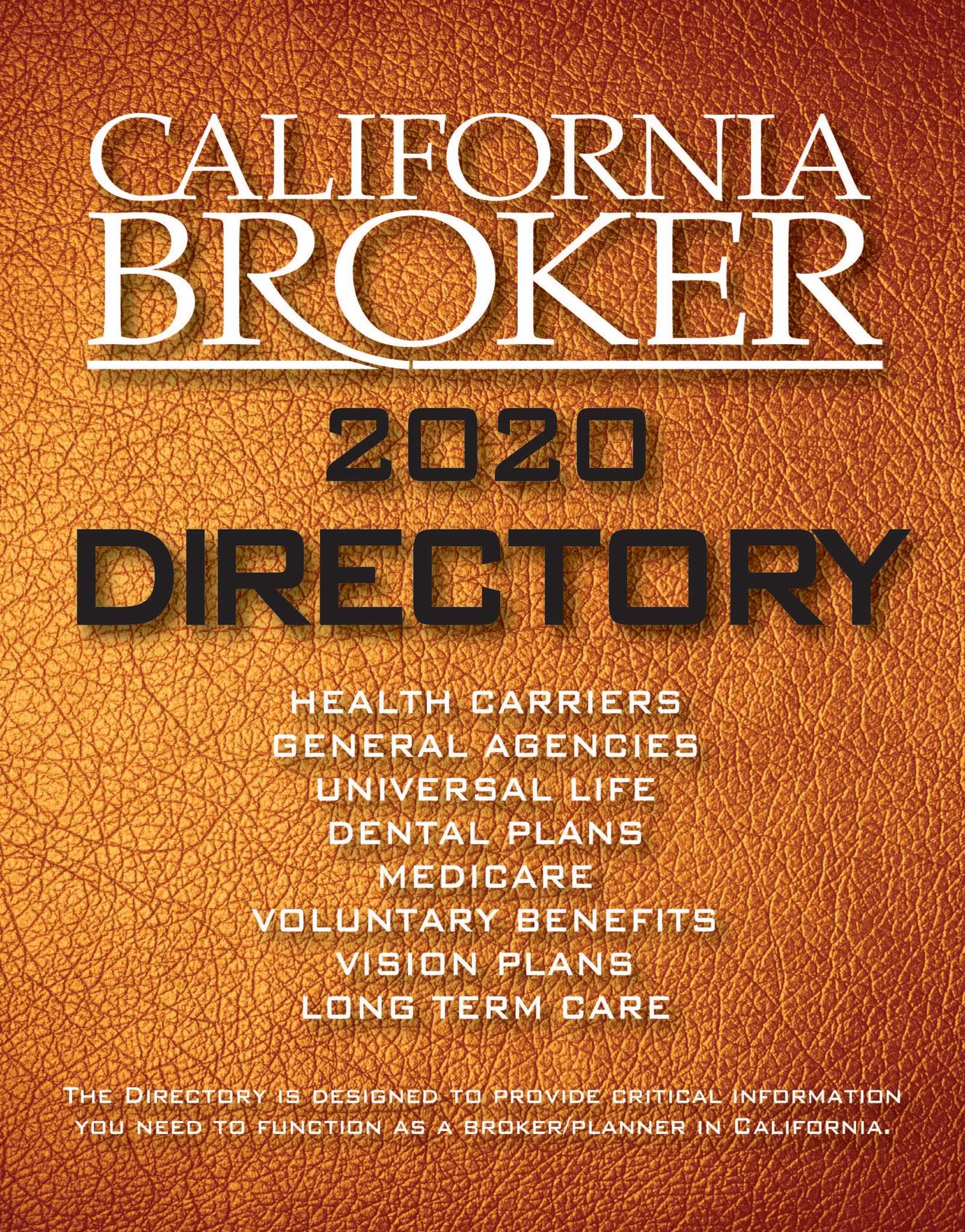 2020 Directory Cover