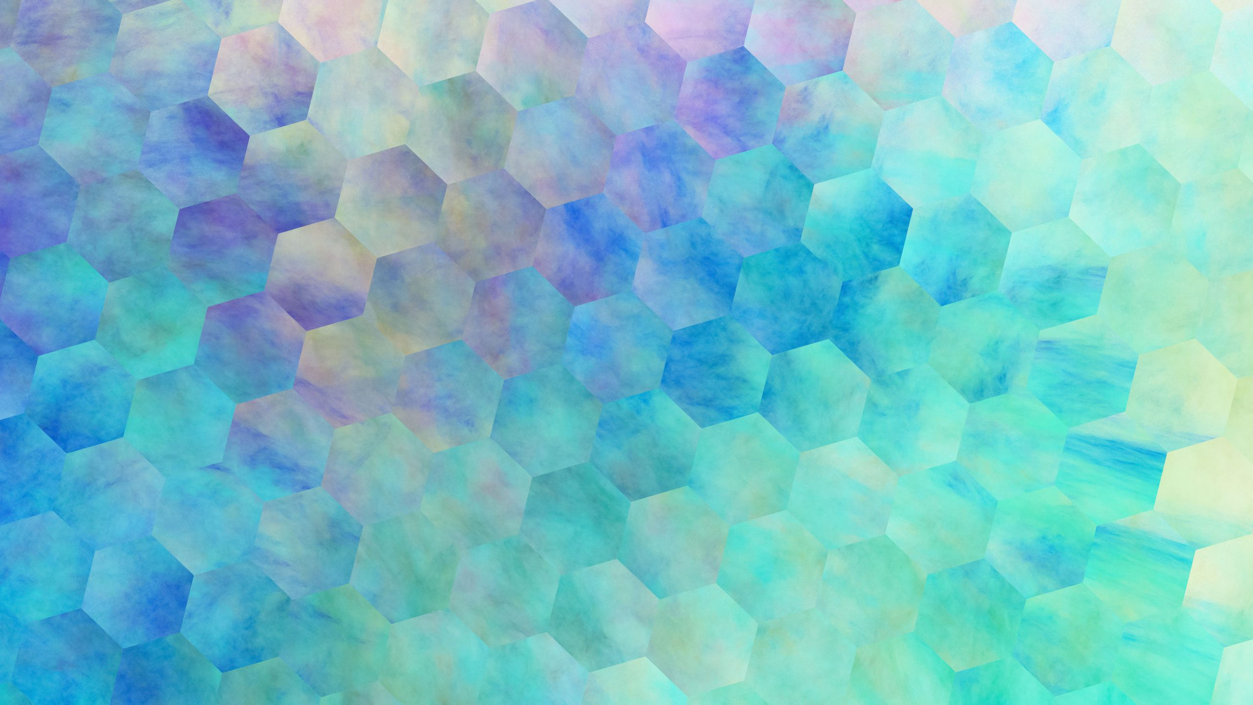 Abstract violet and blue hexagonal texture. Geometric fractal background. Fantasy digital art. 3D rendering.