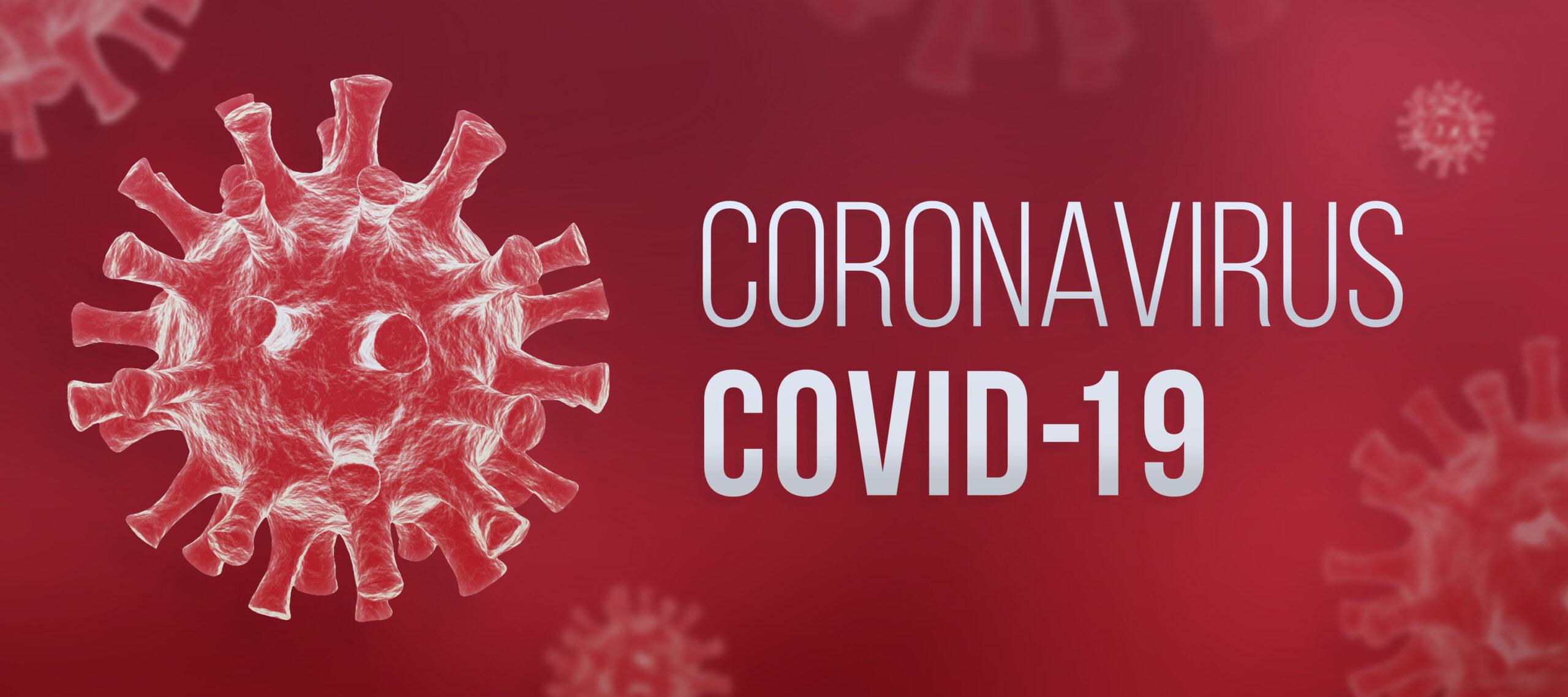 Coronavirus COVID-19 banner