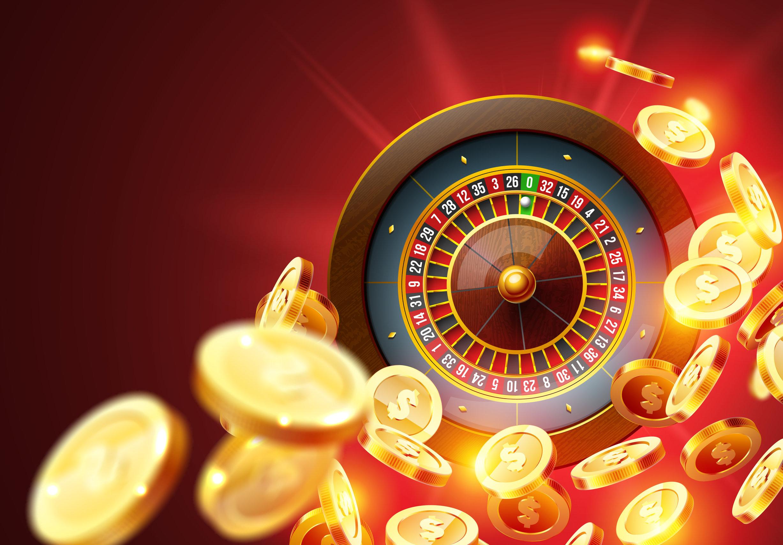 Realistic casino gambling roulette